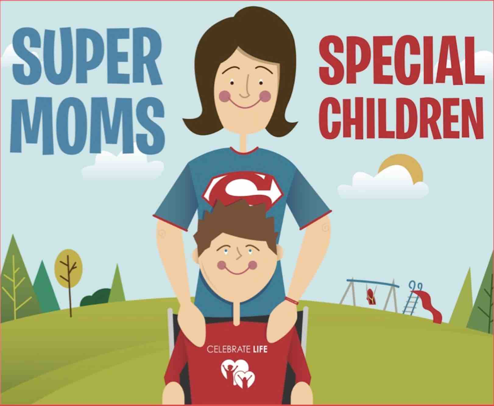 Super Moms Special Children Book
